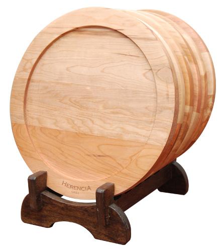 Set de Platos de madera